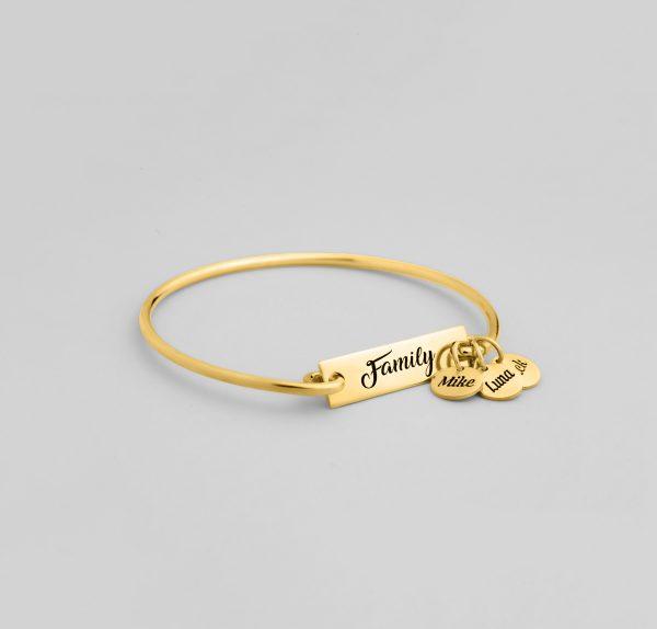 Family Brangle Bracelet